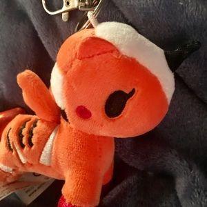 tokidoki Accessories - TOKIDOKI UNICORN MERMAID KEY CHAIN PLUSH